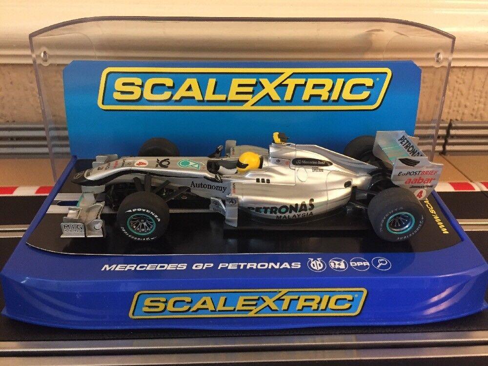 Scalextric digital Mercedes GP Petronas Rosberg No4 C3147 Excelente Estado