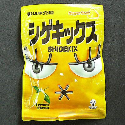 Japan UHA SHIGEKIX Super Sour Lemon flavour Gummy Fruit Candy Candies New
