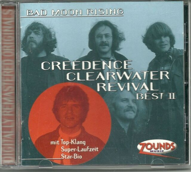 Creedence Clearwater Revival CCR Bad Moon Rising Best II (Best of) Zounds CD RAR