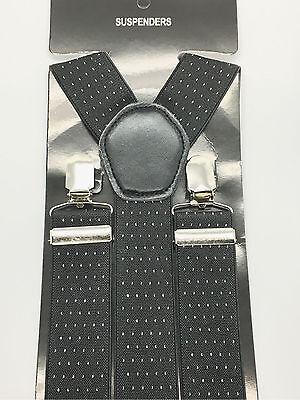 Bene Da Uomo Dot Design Gents Uomini 35mm Ampio Regolabile Bretelle Elastico Bretelle-mostra Il Titolo Originale Ufficiale 2019