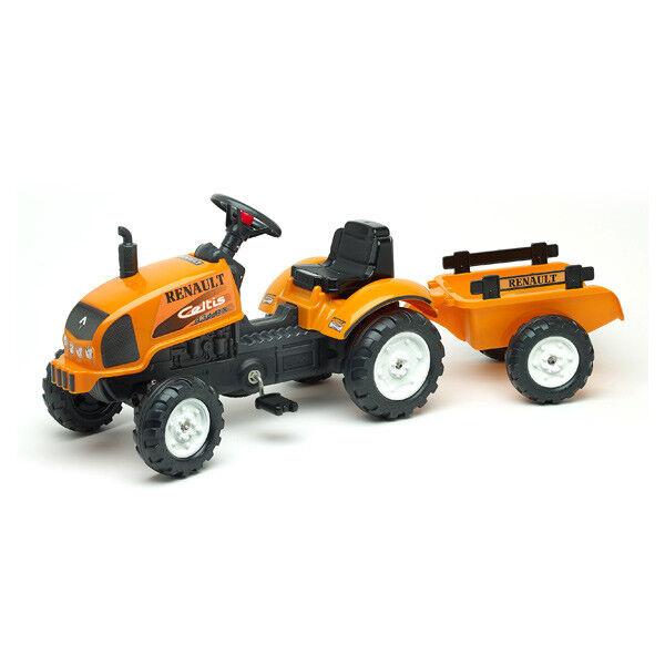 Tracteur Renault avec remorque