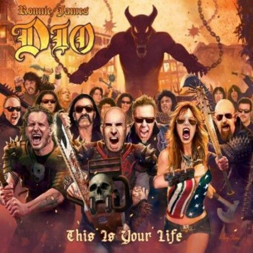 Ronnie James Dio: A Tribute To - This Is Your Life (2014, CD NUOVO)
