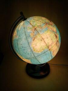 Globus Leuchte Globus beleuchtet Nachttischlampe Globus Lampe mit Farbwechsel