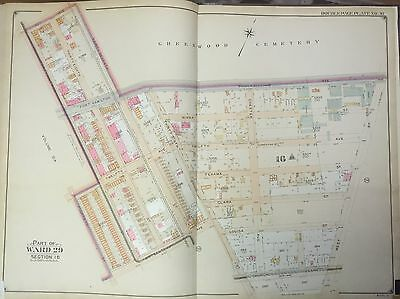Belcher Hyde Brooklyn Ny Kensington Borough Park Nyc Map Atlas 1906 E 27x36 Careful Calculation And Strict Budgeting