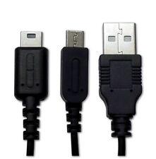 Ladekabel USB Dual Kabel, 1,15 m, schwarz für Nintendo DSi, DS Lite, 3DS