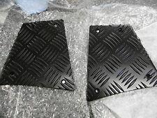 Land Rover Defender 90 Black Chequer Plate Rear Corner 3mm premium qualityBA7734