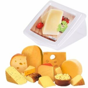 Details About Large Cheese Storage Box|Parmesan Wedge Saver Sealed Kitchen  Food Container Tub