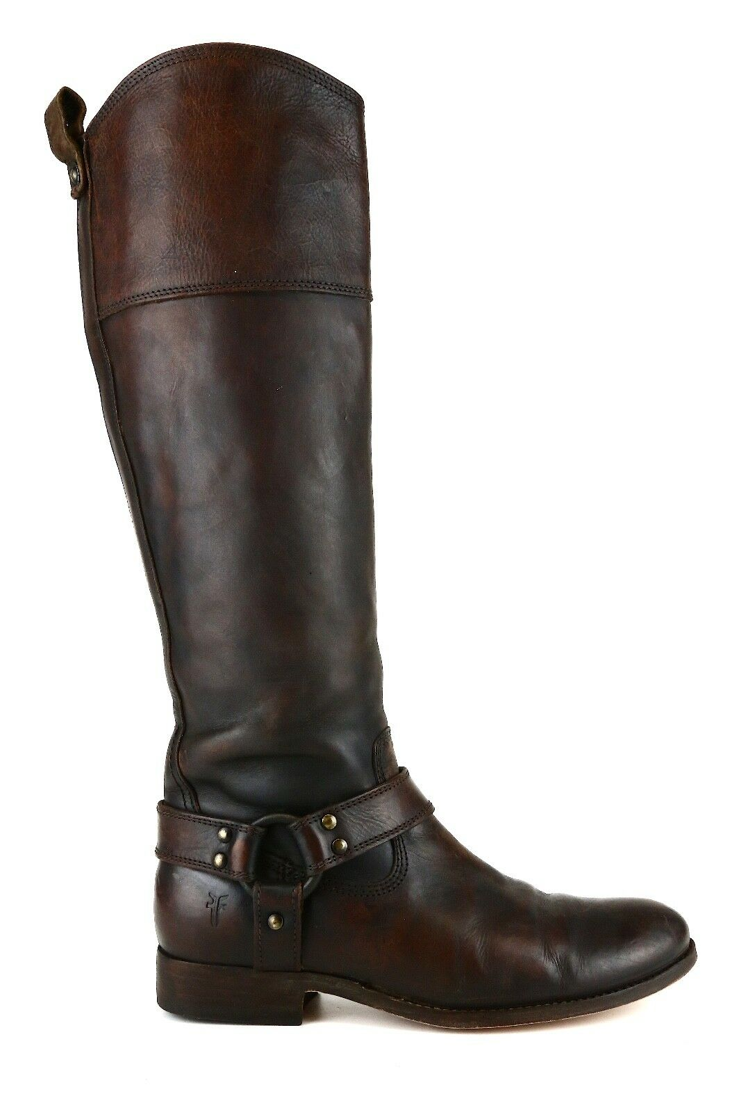Frye Melissa Harness Leather Boot Boot Boot Brown Women Sz 7 B 5632  c765f2