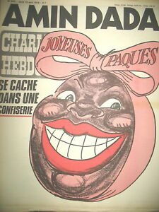 CHARLIE-HEBDO-N-439-AMIN-DADA-JOYEUSES-PAQUES-REISER-WOLINSKI-CABU-1979