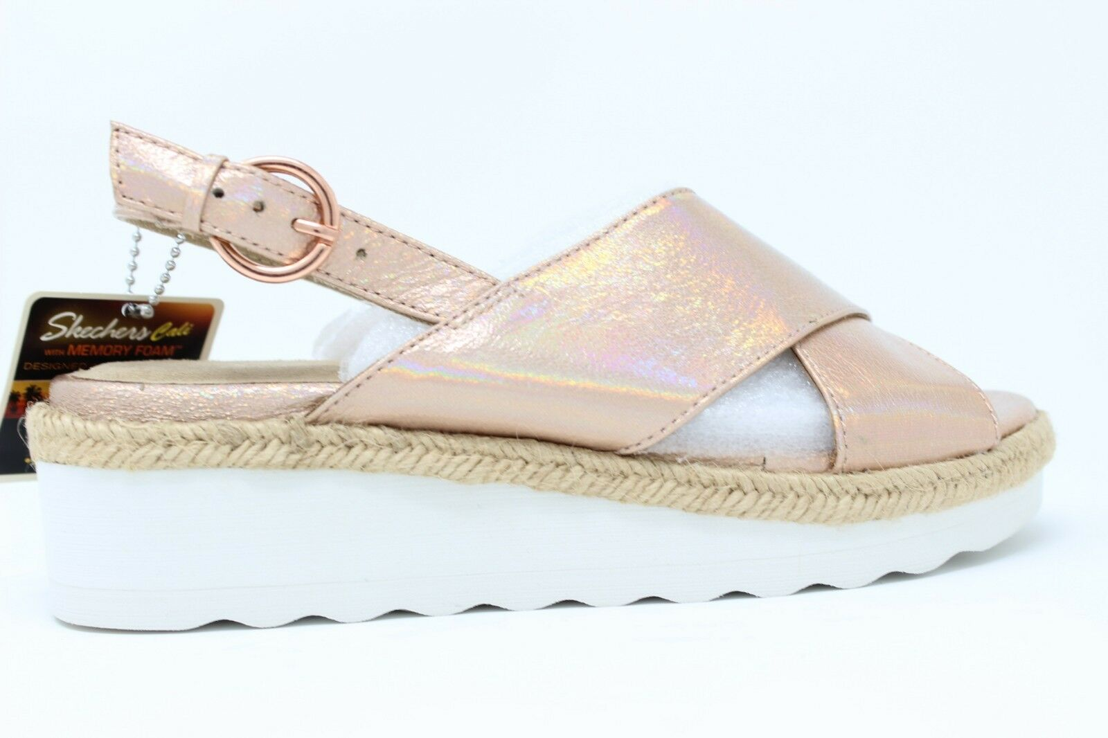 Skechers Cali Women's Refreshers pink gold 31788 RSGD With Memory Foam