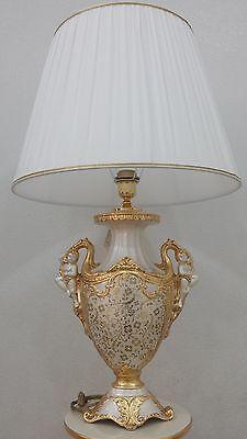 Oggetti Via Veneto.Lumen 1 Light Via Veneto Gold Ceramic Angels Objects Mantelpiece Home Furnishings Ebay