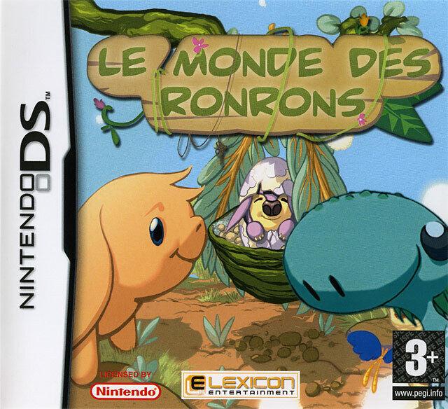 LE MONDE DES RONRONS / NINTENDO DS / NEUF SOUS BLISTER D'ORIGINE / VF