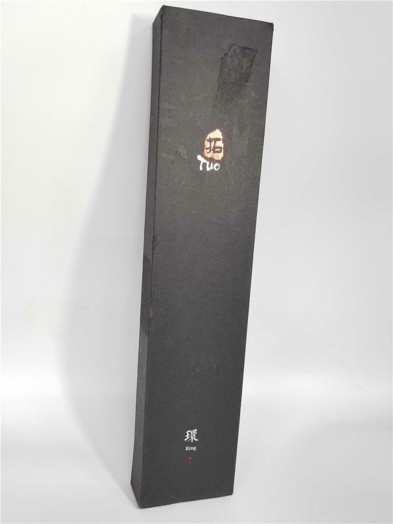 Tuo couverts japonais Damascus Kiritsuke 8.5 in (environ 21.59 cm) du chef couteau de cuisine