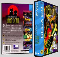 Adventures Of Batman And Robin - Sega Cd Reproduction Art Dvd Case No Game