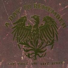 For Those Who Have Heart [CD/DVD] [Remaster] by A Day to Remember (CD, Feb-2008, 2 Discs, Victory Records)