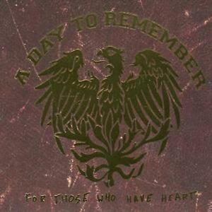 A Day to Remember : For Those Who Have Heart (Reissue) CD ... A Day To Remember For Those Who Have Heart Reissue Dvd