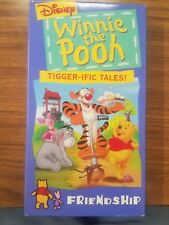Winnie The Pooh Tigger-ific Tales VHS
