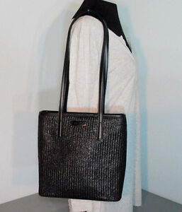 Image Is Loading Nine West Black Shoulder Bag Handbag Purse