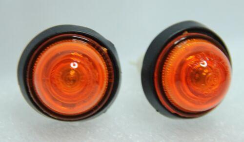 2 X Klassisch Fiat X1//9 X19 Seitenblinker Blinker Lichter Orange Brandneu