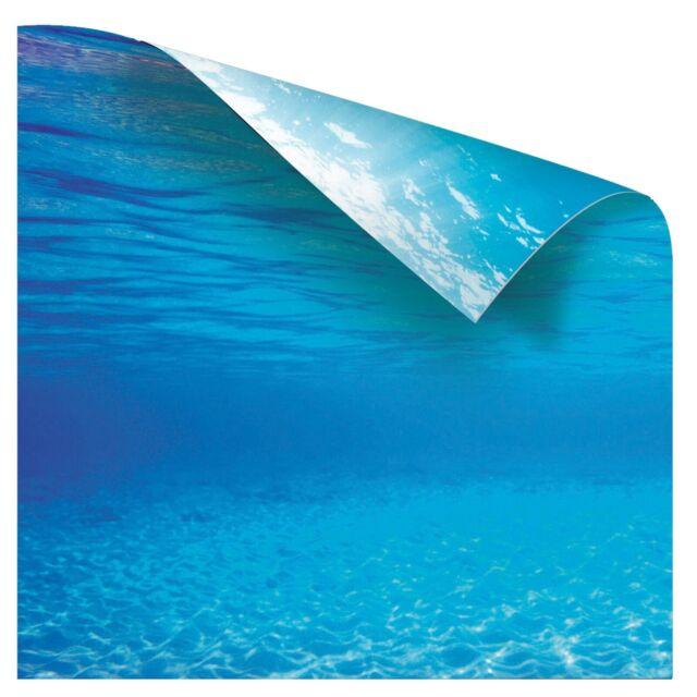 Juwel Ocean Blue Aquarium Background Wallpaper Poster 150x60cm