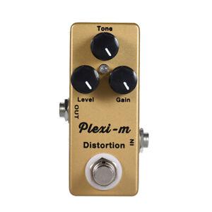 Mosky-Plexi-m-Distortion-Guitar-Effects-Pedal-Gain-Level-Tone-Knob-Crazy-Sound