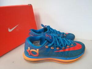 0636c1b074d5 Nike KD VI 6 Elite OKC Photo Blue Team Orange Mango 642838-400 SIZE ...