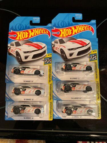 2019 Hot Wheels Kmart Exclusive 16 Camaro SS Lot Of 6