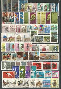 DDR-1968-gestempelt-kompletter-Jahrgang-mit-allen-Einzelmarken-gute-Stempel