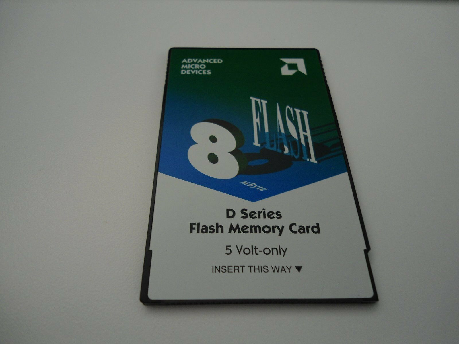 Advanced Micro Devices D Series 8MB Flash Memory Card