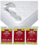 FITTED-MATTRESS-PROTECTOR-SHEET-SINGLE-DOUBLE-AND-KING-SIZE-WATERPROOF-VINYL thumbnail 1