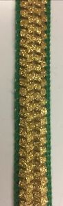 Ribbon-Trim-Strap-Sewing-Dress-Bag-Bridal-Decor-1-5-cm-wide-green