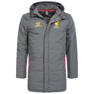 Liverpool-FC-Winterjacke-Herren-Winter-Manager-Stadion-Jacke-LFC-Warrior-Coach