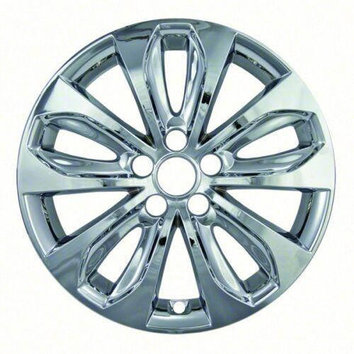 "Fits Hyundai Sonata 2011-2013 CCI CHROME 18/"" Wheel Skins Hubcaps Wheel Covers"