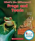 Frogs and Toads by Lisa M Herrington (Hardback, 2015)