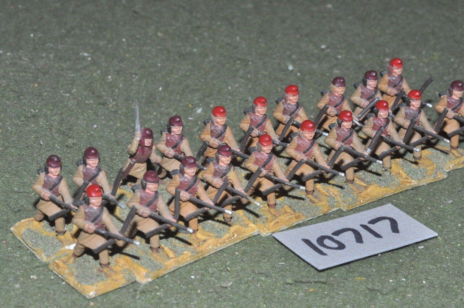 25mm roman era   roman - late archers 20 figs - inf (10717)