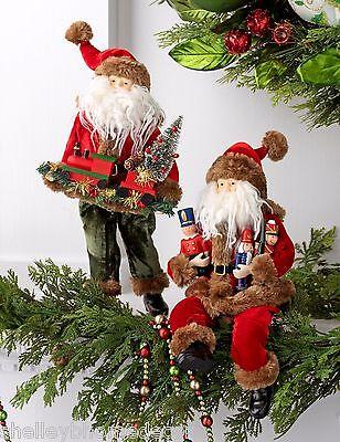Christmas Ornament Santa w/ Toy Soldiers & Train Night Before nb 3519040 NEW RAZ