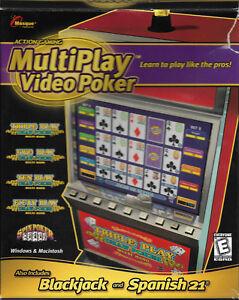 Multiplay-Video-Poker-Masque-Action-Gaming-Computer-Game-Blackjack-Spanish-21