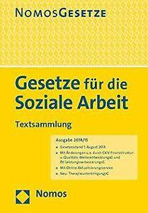 Gesetze-fuer-die-Soziale-Arbeit-Textsammlung-Rechtsstan-Buch-Zustand-gut