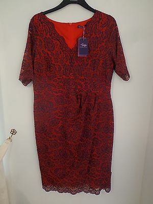 Twiggy for M/&S Collection Size 14 Long Sleeve Jersey Pencil Dress Bnwt