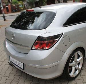 Vauxhall Opel Astra H III TWIN TOP 07-10 Sourcils phare spoiler lightbrows