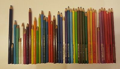 Abile Mix Pastelli Colorati Faber Castell + Caran D'ache