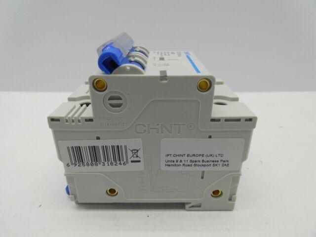 CHINT DZ158-125 125 AMP 985595 DOUBLE POLE MCB CIRCUIT BREAKER
