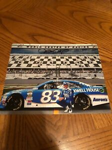DARRELL WALTRIP SIGNED AUTOGRAPHED 8X10 PHOTO NASCAR HALL OF FAME 2012 2