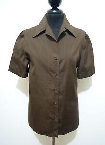 EMILIO-PUCCI-VINTAGE-039-70-Camicia-Donna-Cotone-Cotton-Woman-Shirt-Sz-M-44