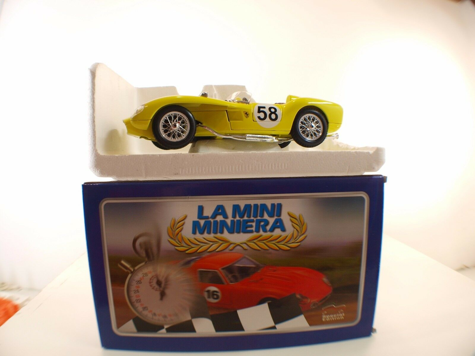 La mini miniera 250 ferrari testa rossa 1957  58 1 18 nine mib box