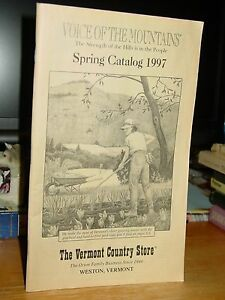 The Vermont Country Store Spring Catalog 1997 Weston
