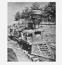The General PHOTO, GREAT LOCOMOTIVE CHASE,Atlanta 1862, Civil War Confederate