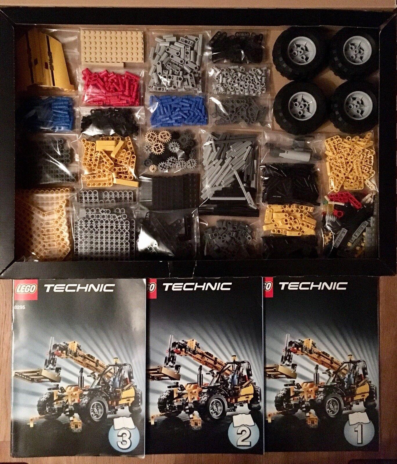 Lego Technic Technik 8295 Grosser Gabelstapler. Wie Neu . 100% Komplett