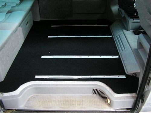 Tappetino bagagliaio VW t4 con piano-seduti girevole