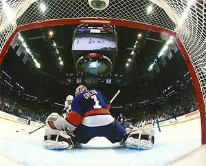 new styles a7ccb 728f4 Details about THOMAS GREISS SIGNED 8X10 NEW YORK ISLANDERS STAR GOALIE  AUTOGRAPH